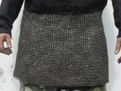 Steel Chainmail Skirt- Large